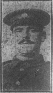 Picture of Private James A. Waterman, 6thMobile Ammunition Col. Mechanical Transport, Royal Army Service Corps.