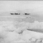 Flights of Spitfires on patrol duty.
